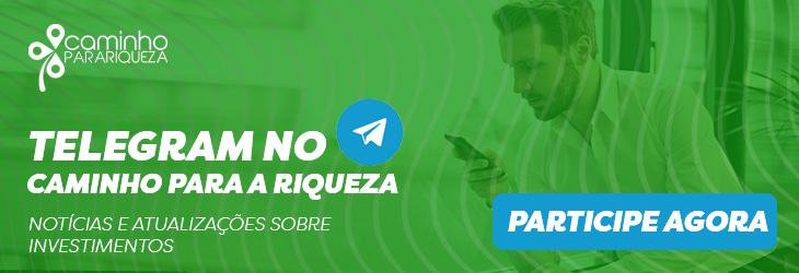 Telegram Caminho para Riqueza - swing trade